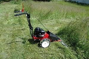Rasenmähen mit dem Smart BM 87-35